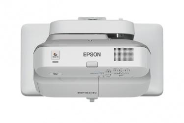 Proyector Interactivo Epson PowerLite Bright Link 675Wi+ 3LCD, WXGA 1280 x 800, 3200 Lúmenes, Tiro Corto, con Bocinas, Blanco