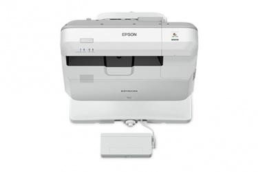Proyector Interactivo Epson BrightLink 710Ui 3LCD, WUXGA 1920 x 1200, 4000 Lúmenes, Tiro Corto, con Bocinas, Blanco - no incluye Módulo Wifi ni Soporte