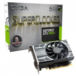 Tarjeta de Video EVGA NVIDIA GeForce GTX 1050 Ti SC GAMING, 4GB 128-bit GDDR5, PCI Express x16 3.0