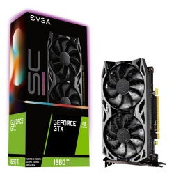 Tarjeta de Video EVGA NVIDIA GeForce GTX 1660 Ti SC Ultra Gaming, 6GB 192-bit GDDR6, PCI 3.0
