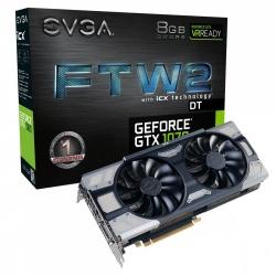 Tarjeta de Video EVGA NVIDIA GeForce GTX 1070 FTW2 DT GAMING, 8GB 256-bit GDDR5, PCI Express 3.0