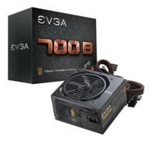 Fuente de Poder EVGA 700W B 80 PLUS Bronze, 24-pin ATX, 120mm, 700W