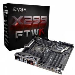 Tarjeta Madre EVGA ATX-E X299 FTW K, S-2066, Intel X299, 128GB DDR4 para Intel