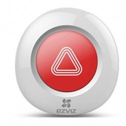 Ezviz Botón de Pánico T3, Inalámbrico, Rojo