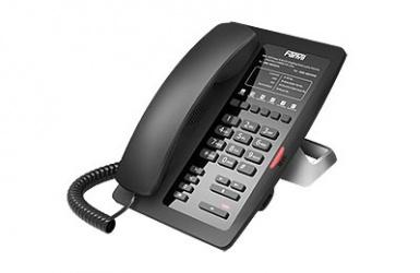 Fanvil Teléfono IP H3F, 6 Teclas Programables, Negro