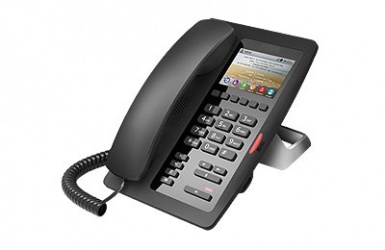 Fanvil Teléfono IP Para Hotelería H5, 6 Teclas Programables, Negro