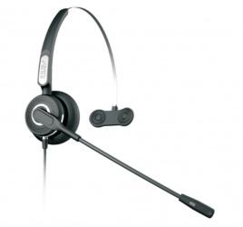 Fanvil Audífonos con Micrófono, Alámbrico, 3.5mm, Negro