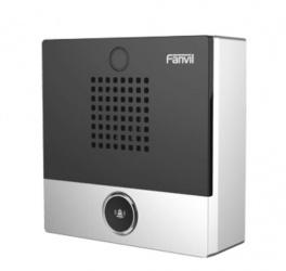 Fanvil Intercomunicador con Cámara I10, Alámbrico, 1x RJ-45, Negro
