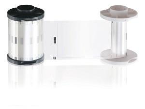 Cinta de Laminación HID Transparente de .6mm, para DTC4500/DTC4500e/HDP5000