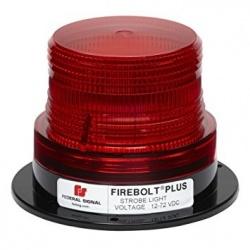 Federal Signal Estrobo Firebolt Plus, LED, 12V, Rojo