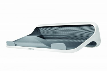 Fellowes Base I-Spire Lift para Laptop 17'', Gris/Blanco