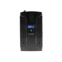 No Break Forza Power Technologies HT-1000LCD Interactivo, 500W, 1000VA, Entrada 81-145V, Salida 120V, 12 Contactos