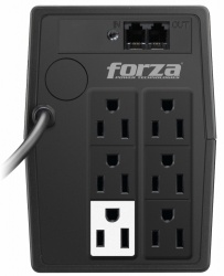 No Break Forza Power Technologies NT-751, 375W, 750VA, Entrada 120V, 6 Contactos