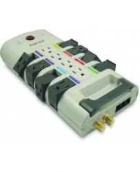 Forza Power Technologies Supresor de Tensión RHT-12NC, 12 Contactos, 4320 Joules