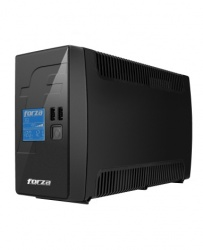 No Break Forza Power Technologies RT-601LCD, 360W, 600VA, Entrada 115V, Salida 115V, 8 Contactos