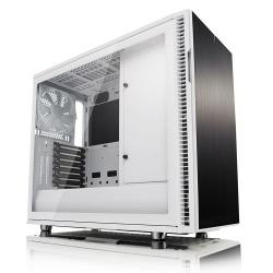 Gabinete Fractal Design Define R6 con Ventana, Midi-Tower, ATX/EATX/ITX/Micro-ATX, USB 2.0/3.0, sin Fuente, Blanco