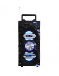 Fussion Acustic Bocina Portátil ISP-8550, Bluetooth, Inalámbrico, 300W, USB, Negro