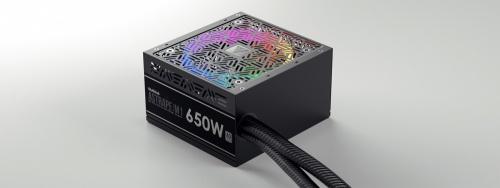 Fuente de Poder Gamdias ASTRAPE M1-650W 80 PLUS, 20+4 pin ATX, 120mm, 650W