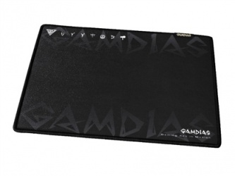 Mousepad Gamer Gamdias NYX, 27.5 x 22.5cm, 4mm, Negro