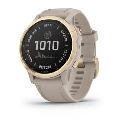 Garmin Smartwatch Fenix 6S Pro Solar, Touch, Bluetooth, Android/iOS, Arena - Resistente al Agua