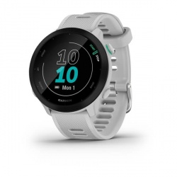 Garmin Smartwatch Forerunner 55, Bluetooth, Android/iOS, Blanco - Resistente al Agua