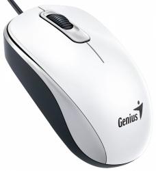Mouse Genius Óptico DX-110, Alámbrico, USB, 1000DPI, Blanco