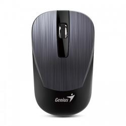Mouse Genius BlueEye NX-7015, Inalámbrico, USB, 1200DPI, Gris Acero