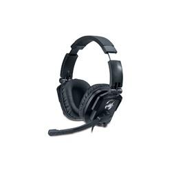 Genius Lychas HS-G550 Audífonos con Micrófono, Alámbrico, 2.5 Metros, Negro
