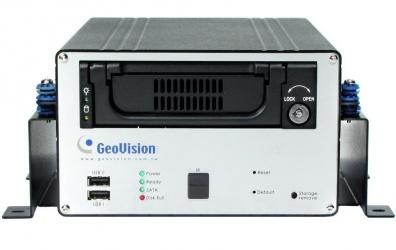 GeoVision DVR Móvil para Vehículos de 4 Canales GV-LX4C3V para 1 Disco Duro, 2x USB 2.0