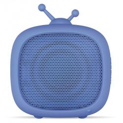 Getttech Bocina Portátil LITTLE TV, Bluetooth, Inalámbrico, 3W RMS, Azul