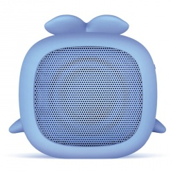 Getttech Bocina Portatil Little Whale, Bluetooth, Inalámbrico, 3W RMS, Azul