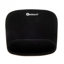 Mousepad Getttech con Descansa Muñecas GTS-28001N, Negro