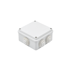 Gewiss Caja de Conexiones de 6 Entradas, Blanco