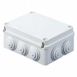 Gewiss Caja de Conexiones de 12 Entradas, Blanco