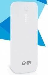 Cargador Portátil Ghia Power Bank Volta GAC-030, 12000mAh, Blanco