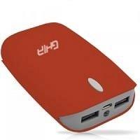 Cargador Portátil Ghia Power Bank Volta, 7500 mAh, Rojo