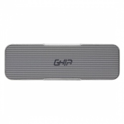 Ghia Bocina Portátil BX200, Bluetooth, Inalámbrico, 16W RMS, USB, Gris