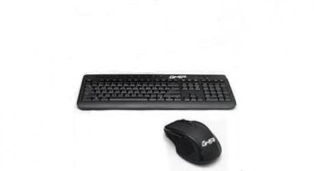 Kit de Teclado y Mouse Ghia GAC-004, Alámbrico, USB, Negro (Español)