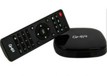 Ghia Smart TV Box GAC-009, 8GB, WiFi, HDMI, USB 2.0