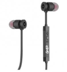 Ghia Audífonos Intrauriculares SPK-1421, Inalámbrico, Bluetooth 4.0, Negro
