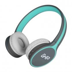 Ghia Audífonos GAC-042, Bluetooth, Inalámbrico, Azul/Gris