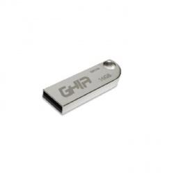 Memoria USB Ghia GAC-105, 16GB, USB 2.0, Plata