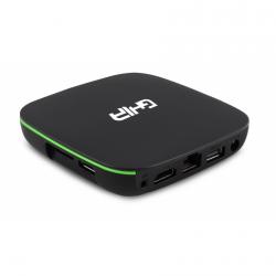 Ghia Smart TV Box GAC-116, Android, 8GB, 4K Ultra HD, WiFi, HDMI, 2x USB, Negro