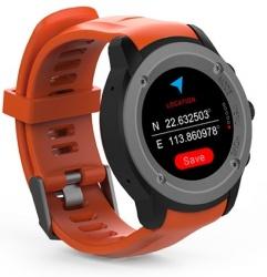 Ghia Smartwatch GAC-141, Touch, Bluetooth 4.0, Android 7.1/iOS 9.3, Negro/Naranja - Resistente al Agua