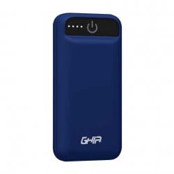 Cargador Portátil Ghia Power Bank GAC-228, 2500mAh, Azul