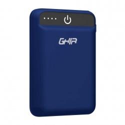 Cargador Portátil Ghia Power Bank GAC-229, 5000mAh, Azul