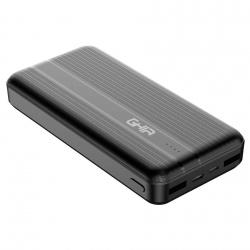Cargador Portátil Ghia Power Bank GAC-232, 10000mAh, Negro