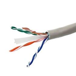 Ghia Bobina de Cable Cat6 UTP 4 Pares, 305 Metros, Gris