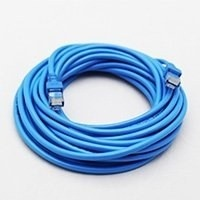 Ghia Cable Patch Cat5e UTP RJ-45 Macho - RJ-45 Macho, 7.5 Metros, Azul