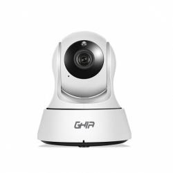 Ghia Cámara Smart WiFi Domo IR para Interiores GCV-002, Alámbrico, 1280 x 720 Pixeles, Día/Noche
